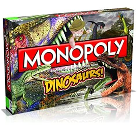 Monopoly Dinosaurs Monopoly Junior Board Game 024365