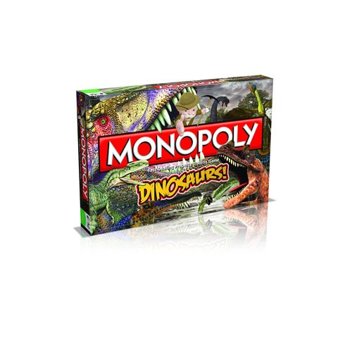 Dinosaurs Monopoly Board Game by Monopoly
