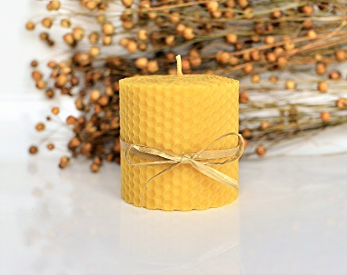100-beeswax-pillar-candle-6-x-65-cm-eco-candles-hand-rolled-natural-and-lovely-honey-scent-100-handm