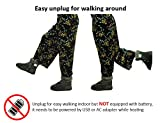 ObboMed® MF-2620L, 12V, 20W, Karbonfaser beheizbare Schuhe (L: bis Schuhgröße 45.5), Heizschuhe, Infrarot Schuhe, Fußwärmer, Kalte Füße Aufwärmer, Wärmeschuhe, Winterhausschue, - 6
