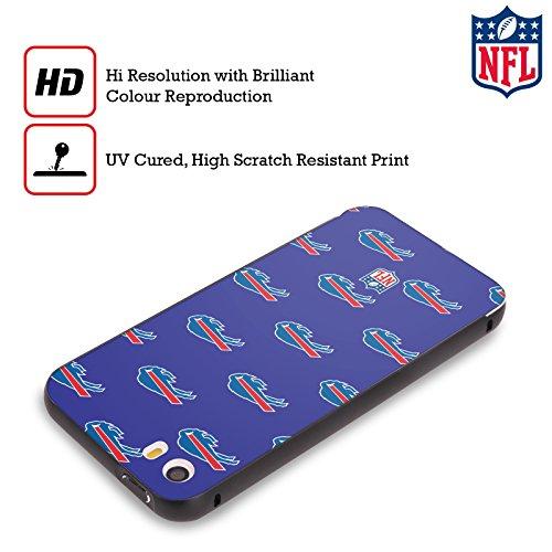 Ufficiale NFL LED 2017/18 Buffalo Bills Nero Cover Contorno con Bumper in Alluminio per Apple iPhone 6 Plus / 6s Plus Pattern
