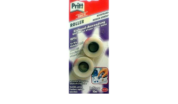 Pritt Refill WA222B //// GGKRB f/ür Mini Klebeband-Abroller