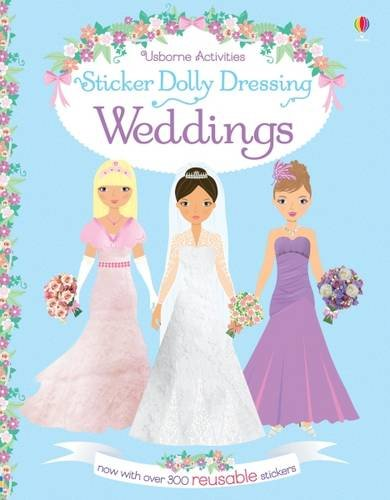 Sticker Dolly Dressing. Weddings