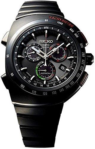 Seiko Herrenuhr Astron GPS Solar Chronograph Giugiaro Design Limited Edition SSE121