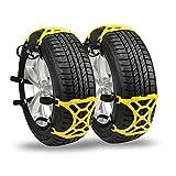 Anti Schneeketten Reifen Notverdickung justierbare Sicherheit Anti-Skid Schnee Reifen Ketten - Satz von 6 Auto / SUV / LKW Universal