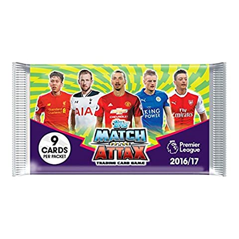 EPL Match Attax 2016/17 Trading Card Game (Pack of 50)
