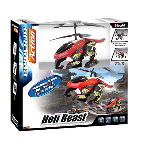 Rocco Giocattoli - Power in Action Heli Beast I/R