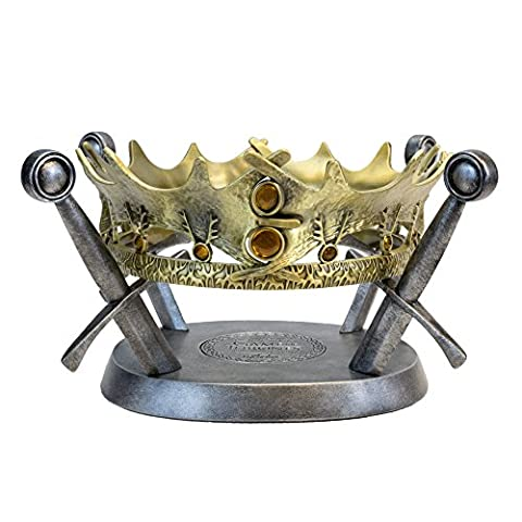 Factory Entertainment Game Of Thrones - The Royal Crown Of King Robert Baratheon Limited Edition Prop