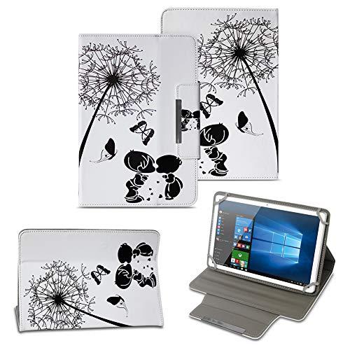 NAUC Tablet Tasche für Acer Iconia One 10 B3-A40 Hülle Schutzhülle Case Schutz Cover, Farben:Motiv 8