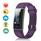 Fitness Band, MUZILI Activity Tracker with Heart Rate Monitor, IP68 Waterproof Smart Watch