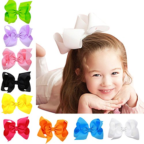baby-girl-grosgrain-ribbon-6-large-boutique-hair-bows-pack-of-16