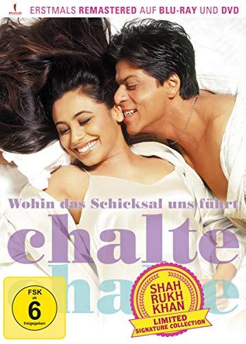 Wohin das Schicksal uns führt - Chalte Chalte (Shah Rukh Khan Signature Collection) (limitiert) (+ DVD) [Blu-ray]