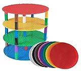 Best Mega Bloks 10 años de edad Juguetes - Rainbow - Pack de 12 bases circulares Review