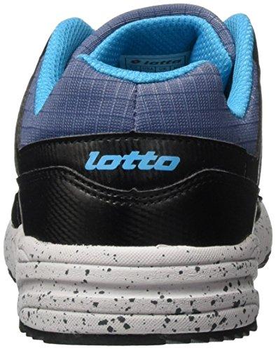 Lotto Strada Ii Jr L, Chaussures de Sport Mixte Bébé Bleu (Nvy Dk/Blk)