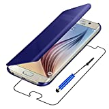 ebestStar - Compatible Coque Samsung S6 Galaxy SM-G920F, G920 Etui Housse View Clear...