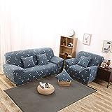 Dehnbarer, rutschsicherer und elastischer Sofa-Schonbezug aus Polyester. Für Einsitzer, Zweisitzer und Dreisitzer., Type:B, 3-Sitzer