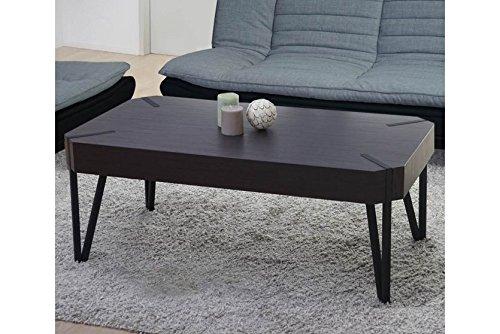 Couchtisch Wenge 43x110x60cm Wohnzimmertisch Sofatisch Holz design modern neu