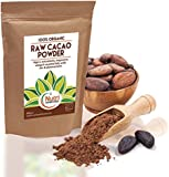 RAW Organic Cacao Powder | Full of Magnesium Rich Superfood | Highly Nutritious Vegan Protein | Premium Quality Unsweetened | Non Dairy Dark Chocolate Ingredient | Versatile and Ideal for Baking | Power Smoothies | Raw Energy Bars | 400g | By Nutri Superfoods