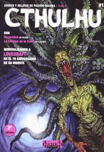 CTHULHU 01. COMICS Y RELATOS DE FICCIÓN OSCURA