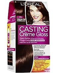 L'Oréal Paris Casting Creme Gloss Pflege-Haarfarbe, 500 Hellbraun