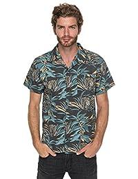 Quiksilver Aloha Tiger - Short Sleeve Shirt For Men EQYWT03650