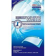 Lovely Smile Bright White-Strips 28 Bandas Blanqueadoras Dientes Blanqueamiento de dientes tiras con avanzada tecnología antideslizante - Teeth Whitening Strips - by RAY OF SMILE®