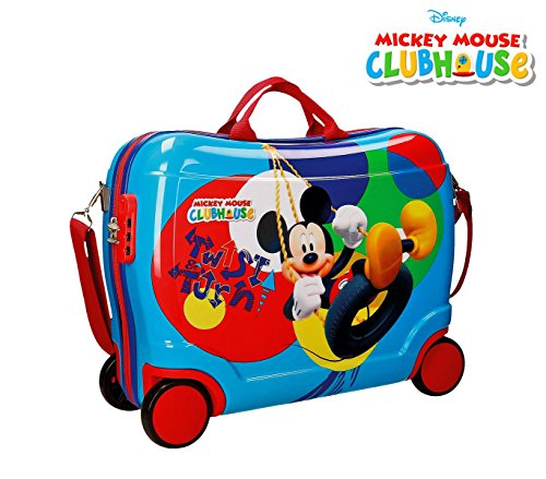 2889951 Maleta trolley ABS correpasillos equipaje mano Mickey Mouse 50x39x20cm