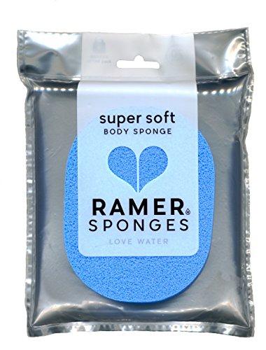 Ramer Sponges Petite éponge super douce pour le corps