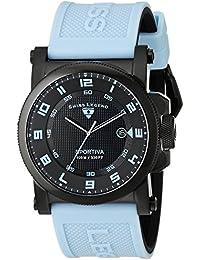 Swiss Legend Sportiva Men's 45mm Blue Rubber Quartz Date Watch 40030-BB-01-BBLAS