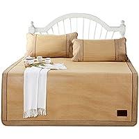Coole Matratze Rattan Mat Sommer Schlaf Matte Faltbare Matte Duett (Ohne Kissenbezüge) Einzelzimmer Schlafsaal (für 4ft, 5ft, 6ft Bed) Coole Bambusmatte (größe : 1.2M(4FT) Bed) preisvergleich bei kinderzimmerdekopreise.eu
