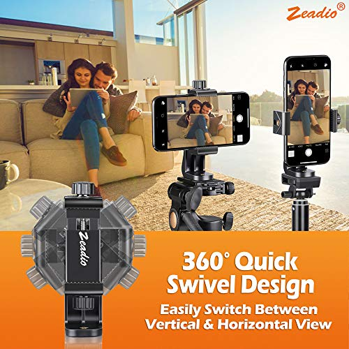 Zoom IMG-3 zeadio supporto per treppiedi smartphone