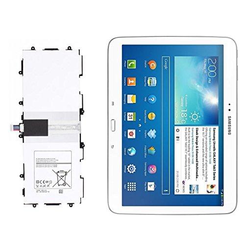 ung Ersatzakku T4500E 6800mah Kompatibel mit Galaxy Tab 3 10.1 Zoll GT - P5210 ()