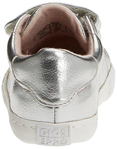 Gioseppo Candescent, Chaussures avec fermeture velcro bébé garçon Argenté