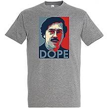 TRVPPY Herren T-Shirt Modell Pablo Escobar Dope in verschiedenen Farben, Gr. S-5XL