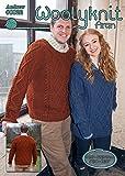 Strickmuster von Woolyknit - 0022-Andrew/Aran,/Herren Pullover knit