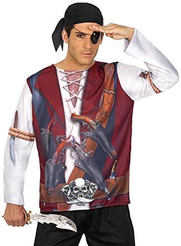 ATOSA 29765 Pirat 3D T-Shirt ()