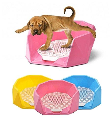 zsy-wc-per-cani-stile-taglio-diamantato-vassoio-di-allenamento-vasino-con-grande-recinzione-per-cucc