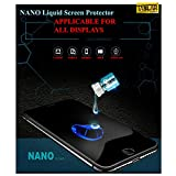 #7: Taslar™ Nano Liquid Glass Screen Guard Protector, Liquid Glass Screen Protector for Your iPhone X, Honor 7X, Oneplsu 5T, Lenovo K8 Note, RedMi Y1, Y1 Lite, Moto G5s Plus, Redmi 4, Nokia 5 6 8, Infocus Turbo, Galaxy On5 Pro On7 Pro, Zuk Z2 Plus, Mi Max 2, Mi Mix 2, Coolpad Note 5, Kindle Paperwhite, Oppe F3, Moto C, Note 8 or any display of Mobile Phones, Tablets, Phablets, iPods, Nintendo Switch, Cameras - (Pack Of 2)