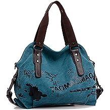 da123c515a354 TianWlio Damen Klassische Handtasche Retro Tasche mit Großem  Fassungsvermögen Handtasche Stundent Messenger Taschen Handtasche Winged  Schultertasche