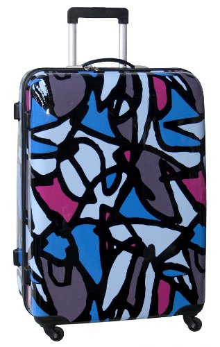 ed-heck-luggage-scribbles-21-inch-hardside-spinner-blue-one-size