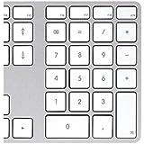 Apple MB110Z/B Tastatur mit Ziffernblock für MacBook (QWERTY - Englisches Layout, USB 2.0) schwarz