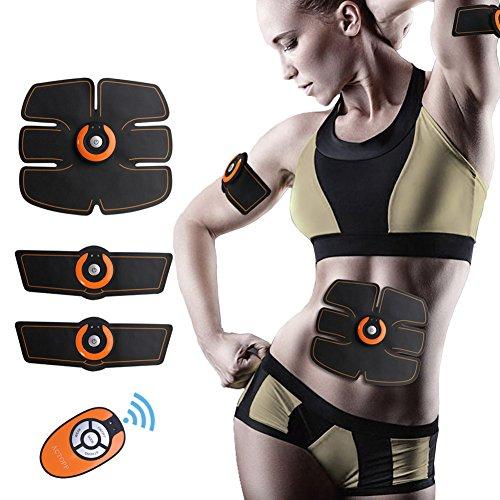 ACTOPP Elettrostimolatore Muscolare Trainer EMS Tonificante Cintura Addominale Muscle Toner Elettronico per...