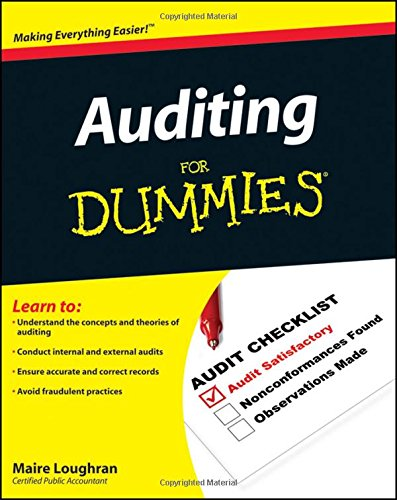 Auditing for Dummies (For Dummies Series)