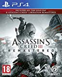 Assassin's creed 3 + assassin's creed liberation remaster PS4 - Import anglais jouable en français