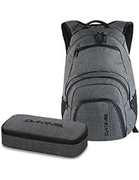 cb94792499d8b DAKINE 2er SET Laptop Rucksack CAMPUS SM + SCHOOL CASE Mäppchen Carbon