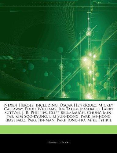 articles-on-nexen-heroes-including-oscar-henr-quez-mickey-callaway-eddie-williams-jim-tatum-baseball