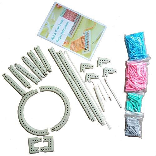 wayion Multifunktions-Craft Garn Martha Stewart Crafts Knit und Weave Loom Kit DIY Werkzeug -