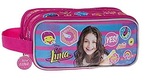 Disney Yo Soy Luna Neceser de Viaje, 1.98 litros, Color Rosa