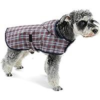 d7f254727fdc37 OHANA Haustier Hunde Regenmantel Wasserdichte Warm Hunde Regenjacke für  Kleine Mittlere Hunde mit 4 Größen