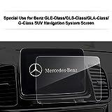 LFOTPP Mercedes Benz Clase G 2017/GLE GLS GLA CLA 15-17 206*136mm Navegación–Protector de pantalla para 9H Resistente a los arañazos–Antihuellas Sistema de navegación Protector de pantalla GPS Navi–Protector de pantalla